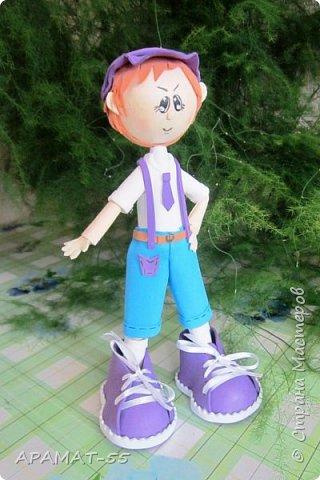Здравствуйте!!! Сегодня у меня опять куклы.Увлеклась. Целая компания ребятишек. фото 14