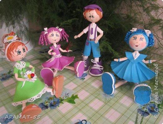 Здравствуйте!!! Сегодня у меня опять куклы.Увлеклась. Целая компания ребятишек. фото 17