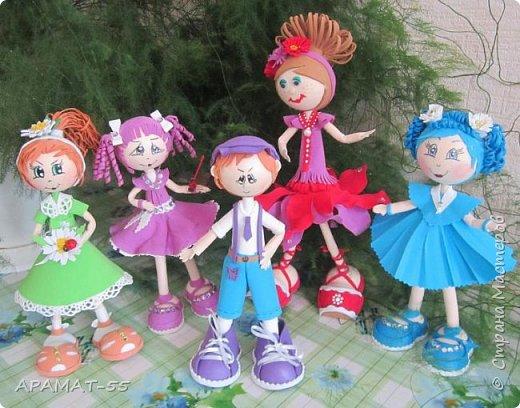 Здравствуйте!!! Сегодня у меня опять куклы.Увлеклась. Целая компания ребятишек. фото 18