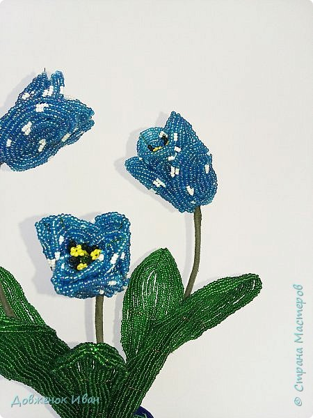 Тюльпаны сделаны по идеи Т.Е. Косововой , под руководством и автору мк Людмилы ( ЛюдмилаШ) на форуме Саната   1. композиция в сосуде   фото 3