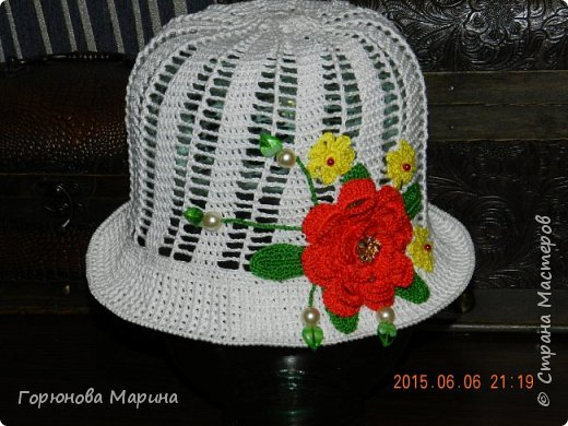 Шляпка-панамка