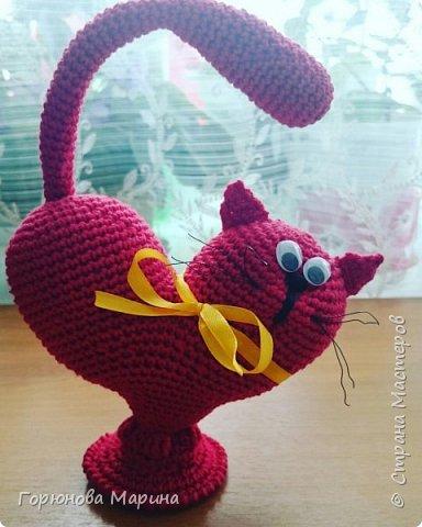 Кот( валентинка )