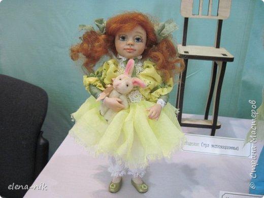 Нормальные  люди в 12 ночи уже спят. Но у меня сегодня был день впечатлений, поэтому не спится и решила  вам показать некоторые куклы, да и не только куклы, которые я сегодня увидела на выставке.  фото 13
