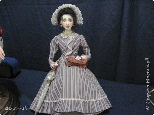 Нормальные  люди в 12 ночи уже спят. Но у меня сегодня был день впечатлений, поэтому не спится и решила  вам показать некоторые куклы, да и не только куклы, которые я сегодня увидела на выставке.  фото 14
