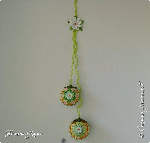 Вот такие шарики украшают теперь мою входную дверь.                                                                                                                                                                                                                                                                                                          фото 5