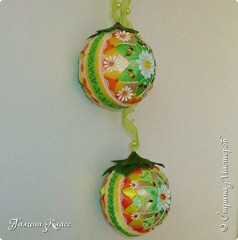 Вот такие шарики украшают теперь мою входную дверь.                                                                                                                                                                                                                                                                                                          фото 3