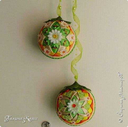 Вот такие шарики украшают теперь мою входную дверь.                                                                                                                                                                                                                                                                                                          фото 4