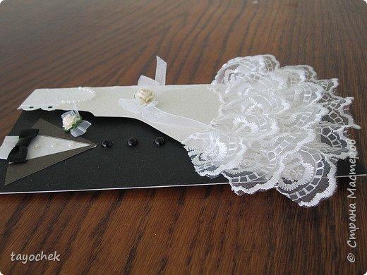 И вдогонку еще один свадебный конвертик для подарка фото 3