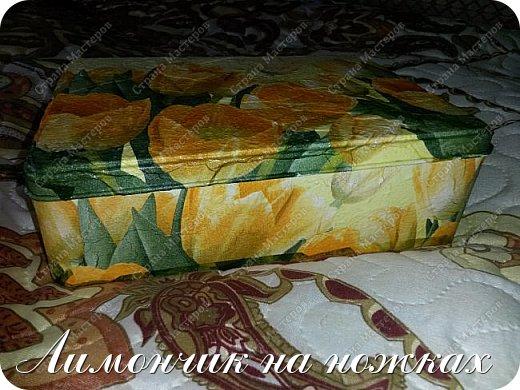 Подарок на день рождения любимой тети - рукодельный набор: шкатулка для рукоделия, маячок для ножниц и игольница. фото 3