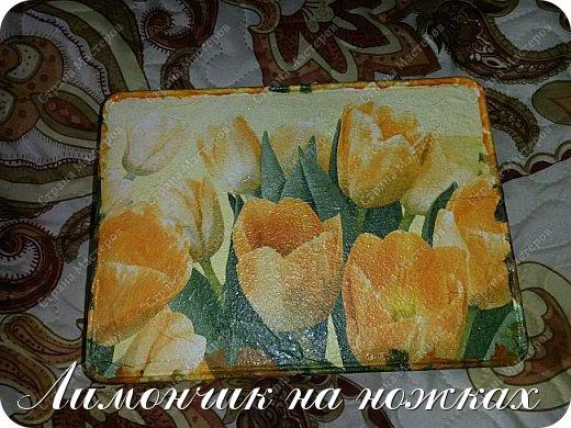 Подарок на день рождения любимой тети - рукодельный набор: шкатулка для рукоделия, маячок для ножниц и игольница. фото 4