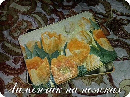 Подарок на день рождения любимой тети - рукодельный набор: шкатулка для рукоделия, маячок для ножниц и игольница. фото 5