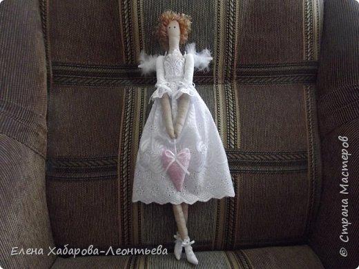 Мой сердечный ангел в стиле Тильда. фото 1