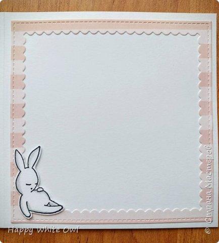 Всем привет! Сегодня хочу поделиться с Вами тремя открытками. Первая работа: открытка-шейкер. фото 3