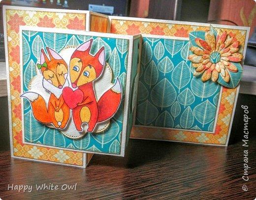Всем привет! Сегодня хочу поделиться с Вами тремя открытками. Первая работа: открытка-шейкер. фото 8