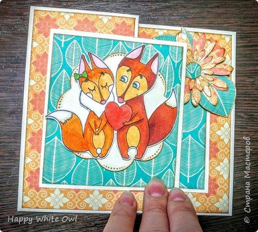 Всем привет! Сегодня хочу поделиться с Вами тремя открытками. Первая работа: открытка-шейкер. фото 10