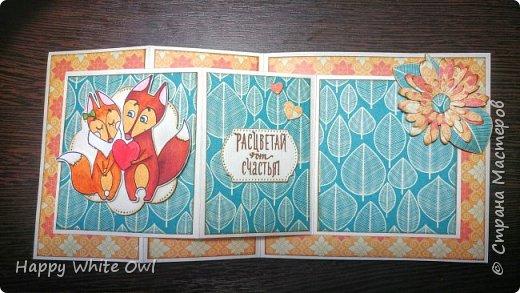 Всем привет! Сегодня хочу поделиться с Вами тремя открытками. Первая работа: открытка-шейкер. фото 11