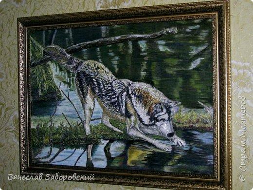 Эскиз картины, выполнен на листе ватмана акварельными красками. Эскиз скопирован по картинке из интернета. фото 3
