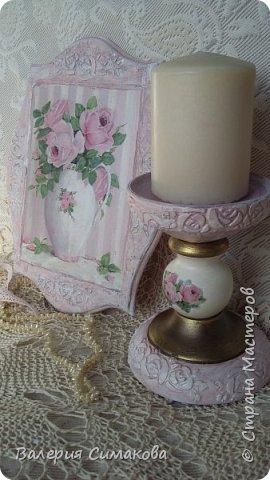 Подставка для свечи, Подставка для косметики/расчесок, панно, яйцо, расческа) фото 7