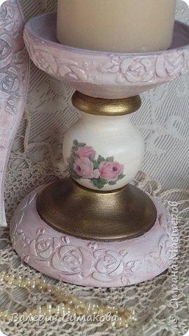 Подставка для свечи, Подставка для косметики/расчесок, панно, яйцо, расческа) фото 5
