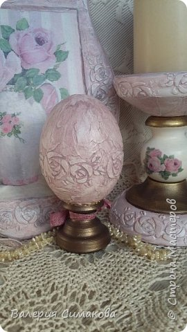 Подставка для свечи, Подставка для косметики/расчесок, панно, яйцо, расческа) фото 10