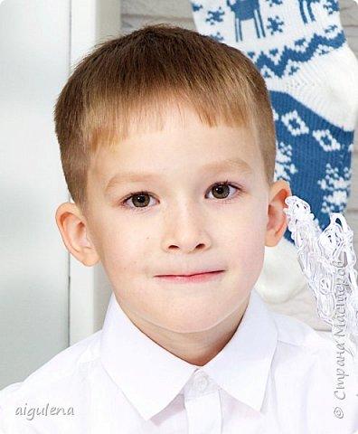 Сделала портрет сына из кожи. Идея взята у http://stranamasterov.ru/user/214435 фото 2