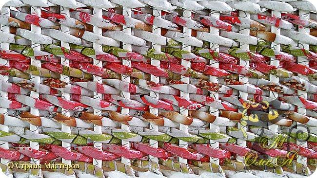 Здравствуйте! Как вы, наверно, уже догадались из названия, в этом посте я покажу вам свои плетенки из рекламных проспектов. фото 5