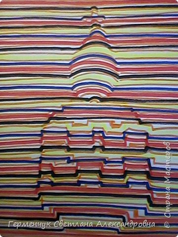 Рисунки  Третьяк Дарьи  3Д.-кисть  руки .,увидела в Интернете и попробовала  нарисовать.Очень хорошо!!! фото 9