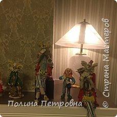 Вот такое трио моих ватных клоунов обрело дом.Теперь они живут в Москве в большой коллекции клоунов. фото 5