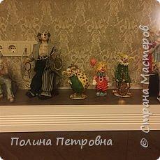 Вот такое трио моих ватных клоунов обрело дом.Теперь они живут в Москве в большой коллекции клоунов. фото 6
