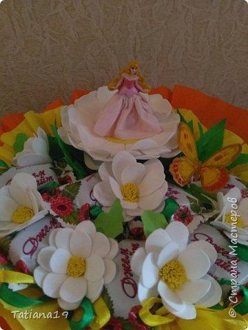Сладкий подарок на выпускной для учителя танцев. фото 2