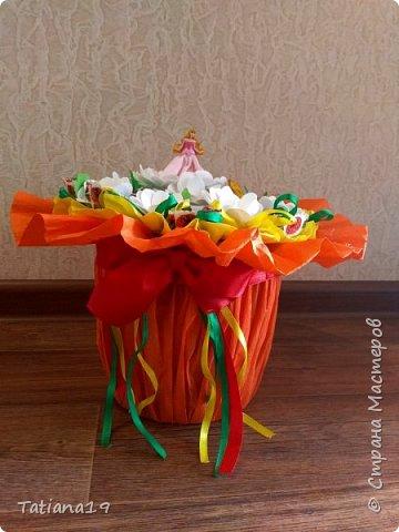 Сладкий подарок на выпускной для учителя танцев. фото 4