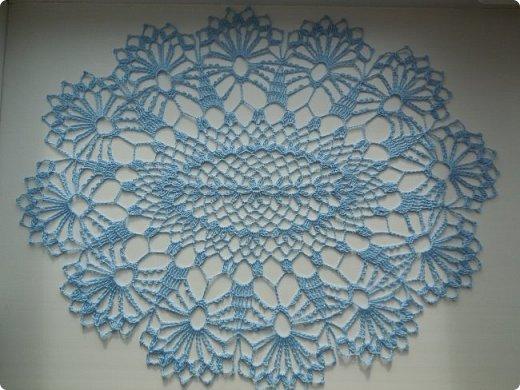 Салфеточки разной формы, но в некой общей стилистике сделают легкий акцент в помещении. Мой самый любимый оттенок голубого - сложный, играющий, то яркий, то бледный... фото 4
