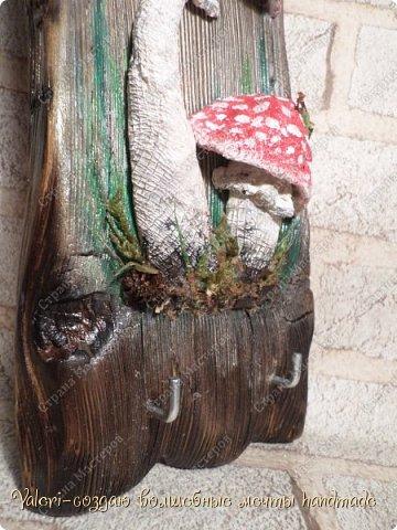 Дорогие ДРУЗЬЯ, всем огромный привет!!! Наконец то и я добралась до браша-ура!!! Давно задумала создать ключницы с объёмными грибочки(и не только грибочками-но это пока в планах) на брашированных досочках и вот мои мечты воплотились в реальность!  фото 11