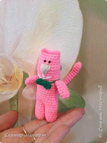 вот такой розовый Мяу =) могут быть в разных цветах =) схема из интернета....с моими доработками =) фото 3
