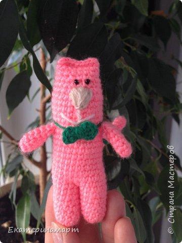 вот такой розовый Мяу =) могут быть в разных цветах =) схема из интернета....с моими доработками =) фото 1