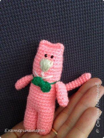 вот такой розовый Мяу =) могут быть в разных цветах =) схема из интернета....с моими доработками =) фото 4
