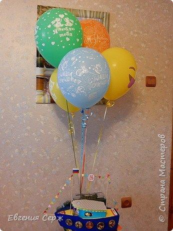 Добрый день жители страны!!! Сегодня внуку 5 лет!!! и я с таким вот подарочком!!!! фото 1