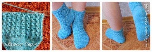 Всех приветствую на своей страничке!!! Носочки были связаны давно на подарок,но показываю только сейчас! фото 4