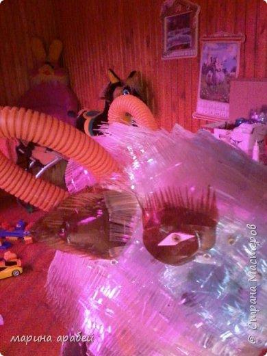 Козочка из пластиковых бутылок фото 3
