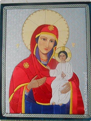 икона Богоматерь-Спасительница фото 1