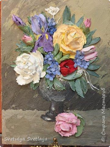 """Картины из """"каменных цветов"""" фото 1"""