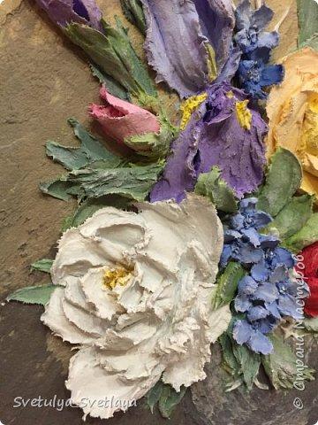 """Картины из """"каменных цветов"""" фото 3"""