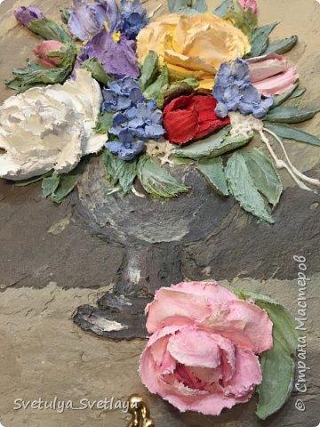 """Картины из """"каменных цветов"""" фото 2"""