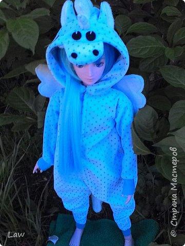 всем привет)) хочу представить вам моих новых куколок, которые появились у меня сравнительно недавно))) Эльфик Мунто и прекрасная девушка Цубаки Камелия) и конечно они получили в подарок свою первую одежду - Кигуруми)) фото 3
