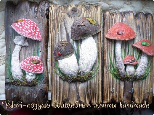 Дорогие ДРУЗЬЯ, всем огромный привет!!! Наконец то и я добралась до браша-ура!!! Давно задумала создать ключницы с объёмными грибочки(и не только грибочками-но это пока в планах) на брашированных досочках и вот мои мечты воплотились в реальность!  фото 1