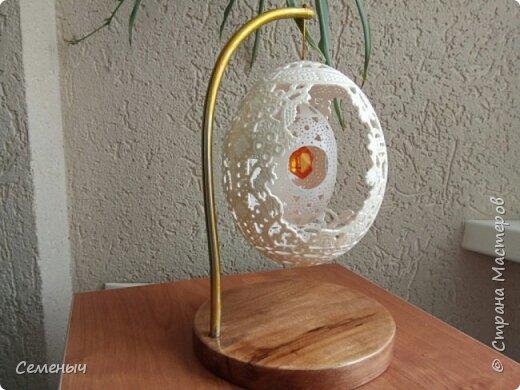 Резьба по скорлупе яйца фото 1