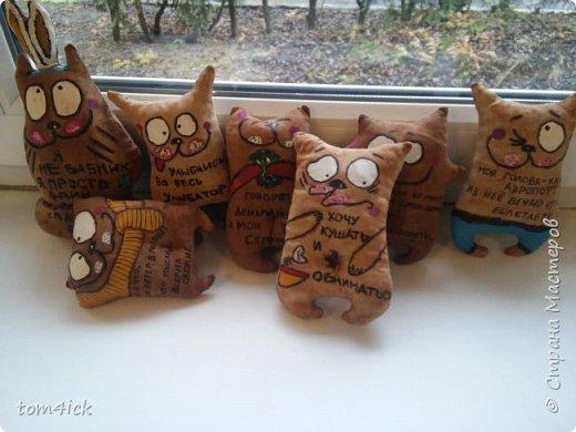 Давно ничего не выставляла. Вот решила и сама вспомнить про свои работы)) Немного кофейных котов, которые делала в прошлом году(. фото 4