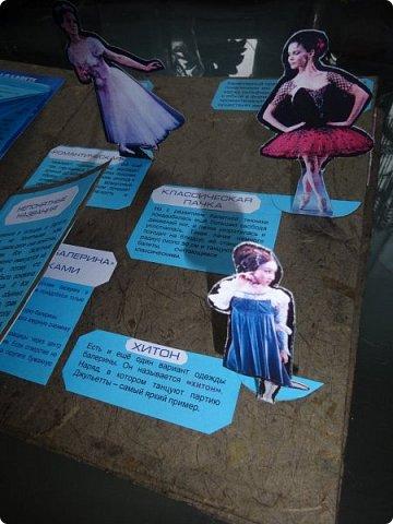 """Здравствуйте, жители и гости Страны Мастеров! В начале прошлого года в некоторых московских школах проходил конкурс на лэп-книгу, изготовленную собственными руками. Дети сами выбирали тематику работы и должны были максимально интересно её представить в виде книги с разворотами, кармашками, объёмными элементами и разными другими """"прибамбасами"""", характерными именно для лэп-книг. Понятное дело, что второклассники априори не могут это сделать сами от и до , без помощи и подсказок взрослых. Поэтому я приложила максимум фантазии и сил , чтобы помочь претворить в жизнь задумку одной замечательной девочки Ани, которая очень любит балет. Через две недели кропотливой работы получилась вот такая книжка. Это наш с ней дебют в таком творчестве. фото 8"""