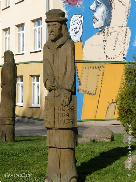 По дороге в Беловежскую Пущу наша туристическая группа заехала в город Каменец, раньше служащий опорным пунктом и преградой на пути к Берестью (Бресту),чтобы увидеть легендарную Каменецкую Вежу или Белую Вежу (башню). фото 9