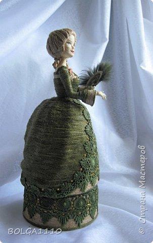Шпагатная кукла-шкатулка . фото 2